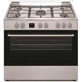 """תנור משולב 90 ס""""מ נירוסטה טורבו מבית PRINCE דגם PR9060IX"""
