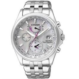 שעון יד סולארי לאישה מתכוונן אוטמטית עשו סופר טיטניום וזכוכית ספיר מבית CITIZEN דגם CI-FC001055