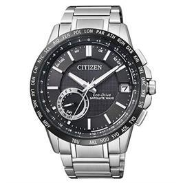 שעון סולארי לוויני עם תאריכון אוטומטי , פלדת אל חלד וזכוכית ספיר מבית CITIZEN דגם CI-CC300551E