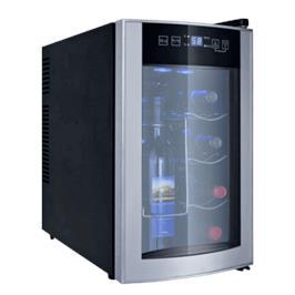 מקרר יין בעיצוב חדשני המיועד לאחסון 8 בקבוקי יין בשילוב מיוחד תוצרת DIAMLLER דגם BCW25