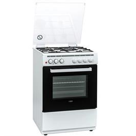 תנור אפייה משולב כיריים 4 מבערים כולל מבער טורבו בצבע לבן תוצרת LY VENT דגם OH-V-710