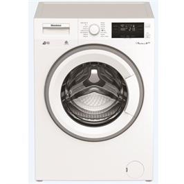 """מכונת כביסה צבע לבן פתח חזית 9 ק""""ג 1200 סל""""ד מנוע Inverter תוצרת BLOMBERG דגם LWF29441W"""