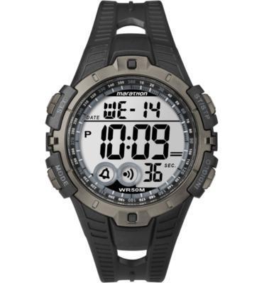 שעון יד דיגיטלי לגבר עם תאורה עמיד במים עד 50M מבית TIMEX Marathon דגם TS-5K802