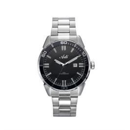 שעון יד אנלוגי לגבר עם תאריכון עשוי פלדת אל חלד ועמיד במים עד 50M מבית ADI דגם 21-6798-193