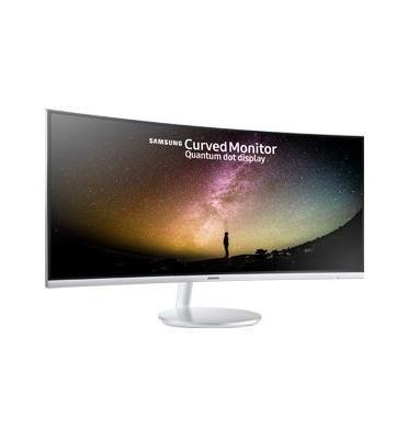 """מסך מחשב מקצועי קעור 34"""" לגיימרים ומקצוענים תוצרת Samsung דגם C34F791WQM"""