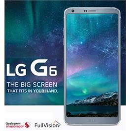 """סמארטפון 32GB מסך 5.7"""" סים כפול מעבד מתקדם מצלמה כפולה 13MP דגם LG G6 H870"""