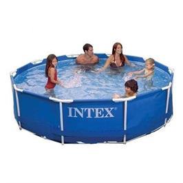 """בריכה משפחתית INTEX עגולה 305X76 ס""""מ דגם 28200"""