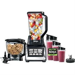 מעבד מזון food processor 3 in 1 מעבד מזון, נוטרי בלנדר ושייקר מקצועיים מבית NINJA דגם BL682