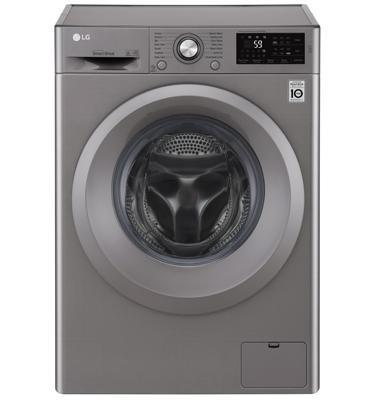 """מכונת כביסה פתח חזית 7 ק""""ג 1200 סל""""ד מנוע INVERTER תוצרת LG דגם F0712WS"""