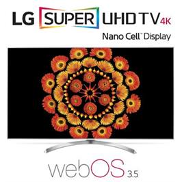 """טלוויזיית """"49 LED Smart TV 4K Ultra HD ופאנל IPS בטכנולוגיית Nano Cell תוצרת LG דגם 49SJ800Y"""