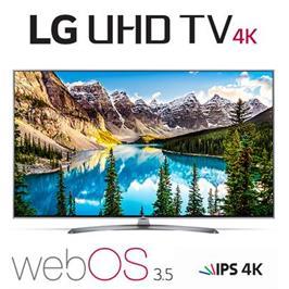 """טלוויזייה """"65 LED Smart TV 4K Ultra HD עם פאנל IPS תוצרת LG דגם 65UJ670Y"""