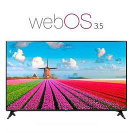 """טלוויזיה 55"""" LED Smart TV ברזולוציית Full HD עם פאנל IPS מבית LG דגם 55LJ550Y"""