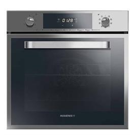 תנור אפייה בנוי פירוליטי תא אפיה גדול ושטוח בנפח 68 ליטר תוצרת ROSIERS דגם RFS-5993IN