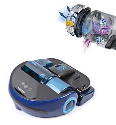 שואב אבק PowerBot עם מסך LED  תוצרת SAMSUNG דגם SR20H9030UB תצוגה\עודפים