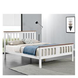 מיטה זוגית מעץ מלא בעיצוב קלאסי .HOME DECOR דגם גולדי