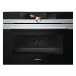 תנור אפייה קומפקטי משולב אידוי עם  HomeConnect תוצרת SIEMENS דגם CS658GRS6