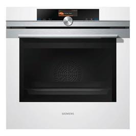 תנור בילד אין פירוליטי לבן מסדרת iQ700 תוצרת SIEMENS דגם HB676G5W1