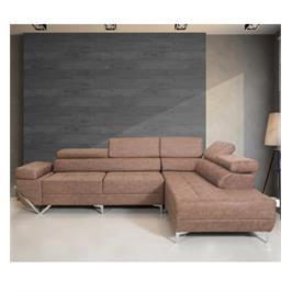 ספה פינתית מפוארת עם משענות גב ויד מתכווננות מבית  VITORIO DIVANI דגם ונצואלה