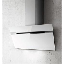קולט אדים ארובה צמוד קיר בגימור זכוכית צבע לבן תוצרת Elica דגם STRIPE-WHA-60LX