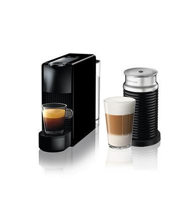 מכונת קפה אסנזה מיני בצבע שחור כולל מקציף חלב ארוצ'ינו מבית Nespresso דגם A3NC30-IL-BK-NE