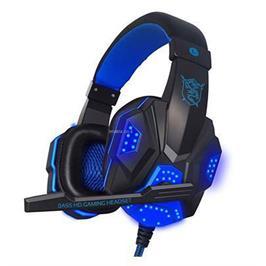 אוזניות גיימינג GAMING בעל תאורת לד ואיכות שמע גבוהה דגם MAT780