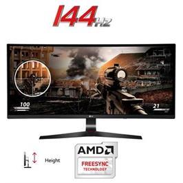 """מסך מחשב 34"""" מקצועי Ultra Wide ברזולוציית Full HD מיוחד לגיימינג תוצרת LG דגם 34UC79G-B"""