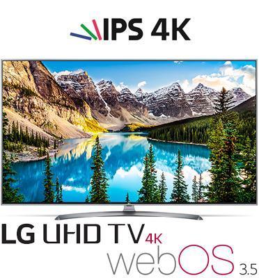"""טלויזיה """"75 LED Smart TV 4K Ultra HD פאנל IPS אינדקס עיבוד תמונה PMI1900 מבית LG דגם 75UJ675Y"""