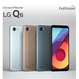 """סמארטפון מסך 5.5"""" 64GB מצלמה 13MP תוצרת LG דגם  M700Y - Q6 PLUS צבע זהב"""