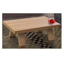 שולחן לסלון בצבע עץ בגימור איכותי המעוצב במראה יוקרתי לשידרוג הסלון מבית LEONARDO דגם ברקת