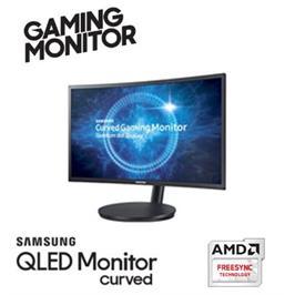 """מסך מחשב """"23.5 גיימינג מקצועי קעור Curved תוצרת SAMSUNG דגם C24FG73FQM"""