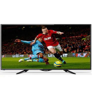 """טלויזיה """"55 UHD SMART TV 4K צבע שחור תוצרת LENCO דגם LD-55AN4K/EL"""