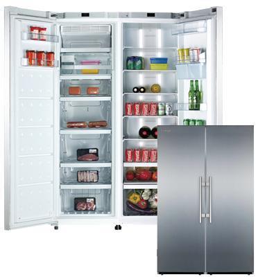 מקרר דלת ליד דלת 610 ליטר No Frost תוצרת AMCOR דגם AMS380-AFS300