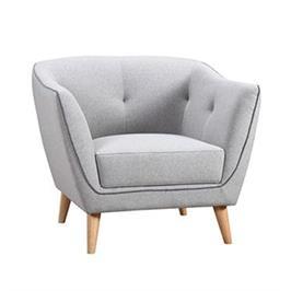 כורסא מעוצבת מבד  FREEMAN