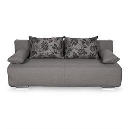 ספה לשינה ואירוח בעיצוב יפהפה נפתחת למיטה זוגית עם ארגז מצעים מבית HOME DECOR דגם פרינט
