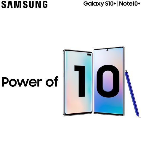 SAMSUNG Galaxy Power of 10