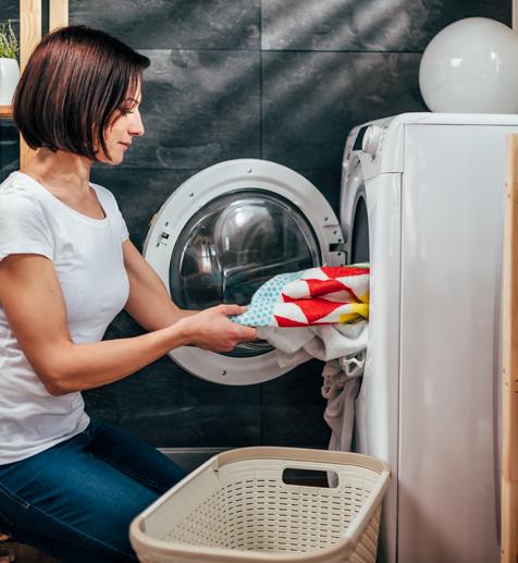 מגוון מכונות כביסה